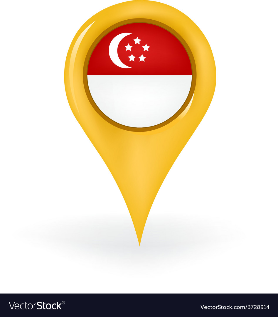 Location singapore vector | Price: 1 Credit (USD $1)