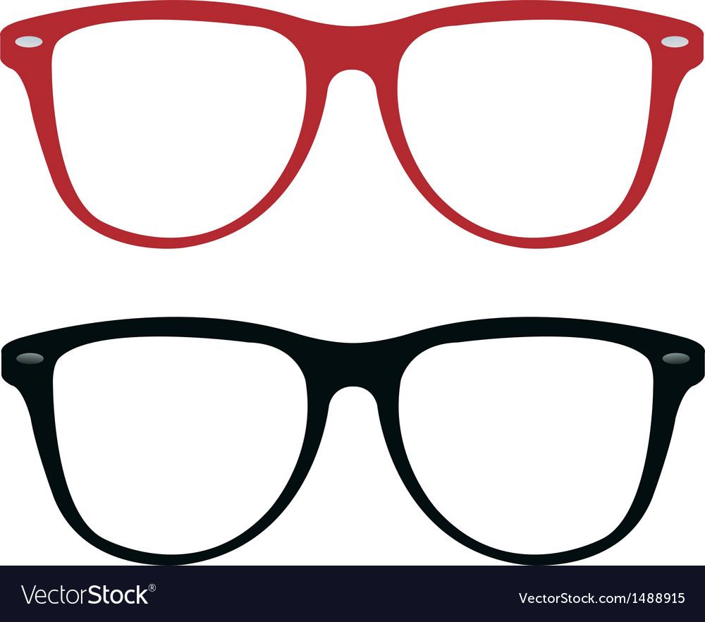 Sunglasses frames vector | Price: 1 Credit (USD $1)