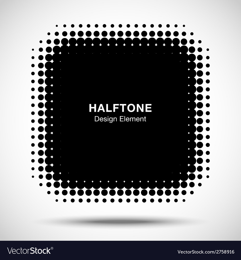 Black abstract halftone design element vector   Price: 1 Credit (USD $1)