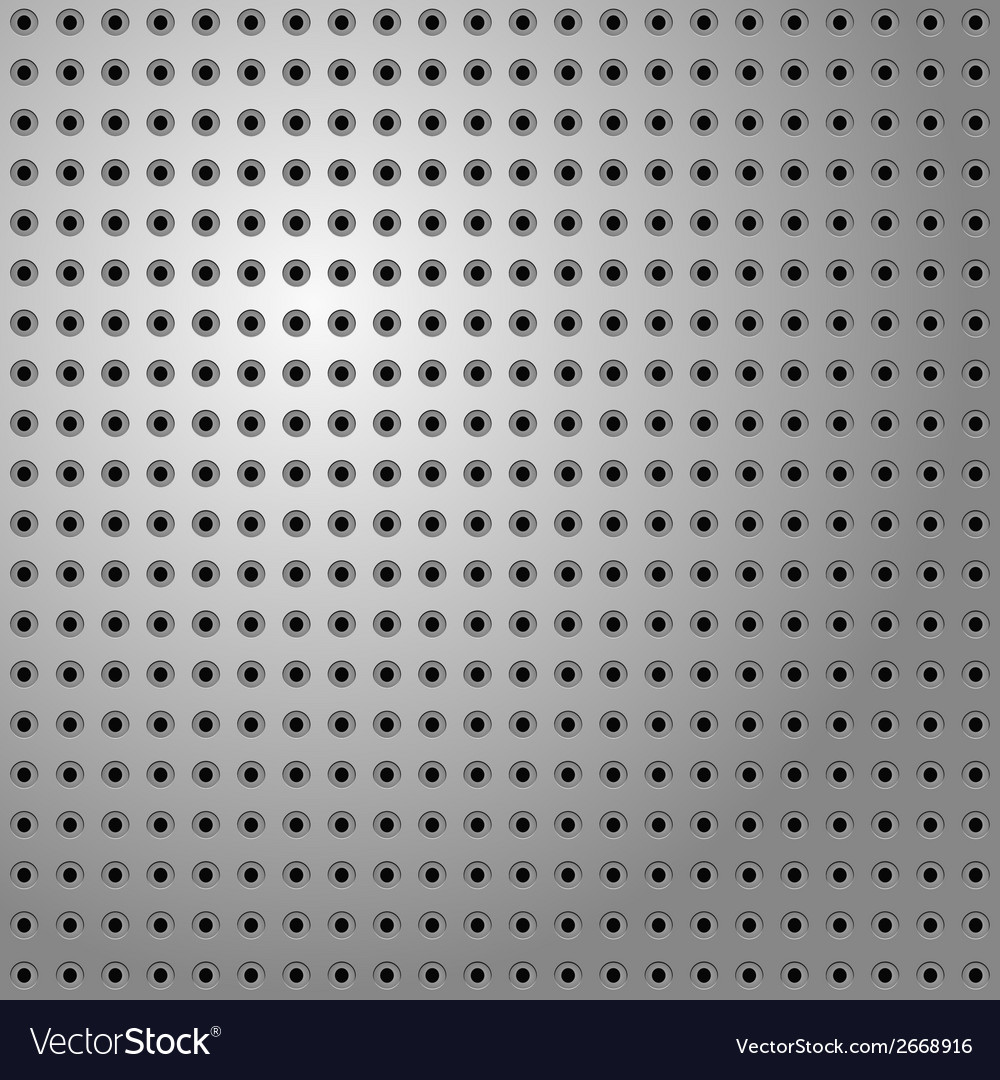 Perforated steel vector | Price: 1 Credit (USD $1)
