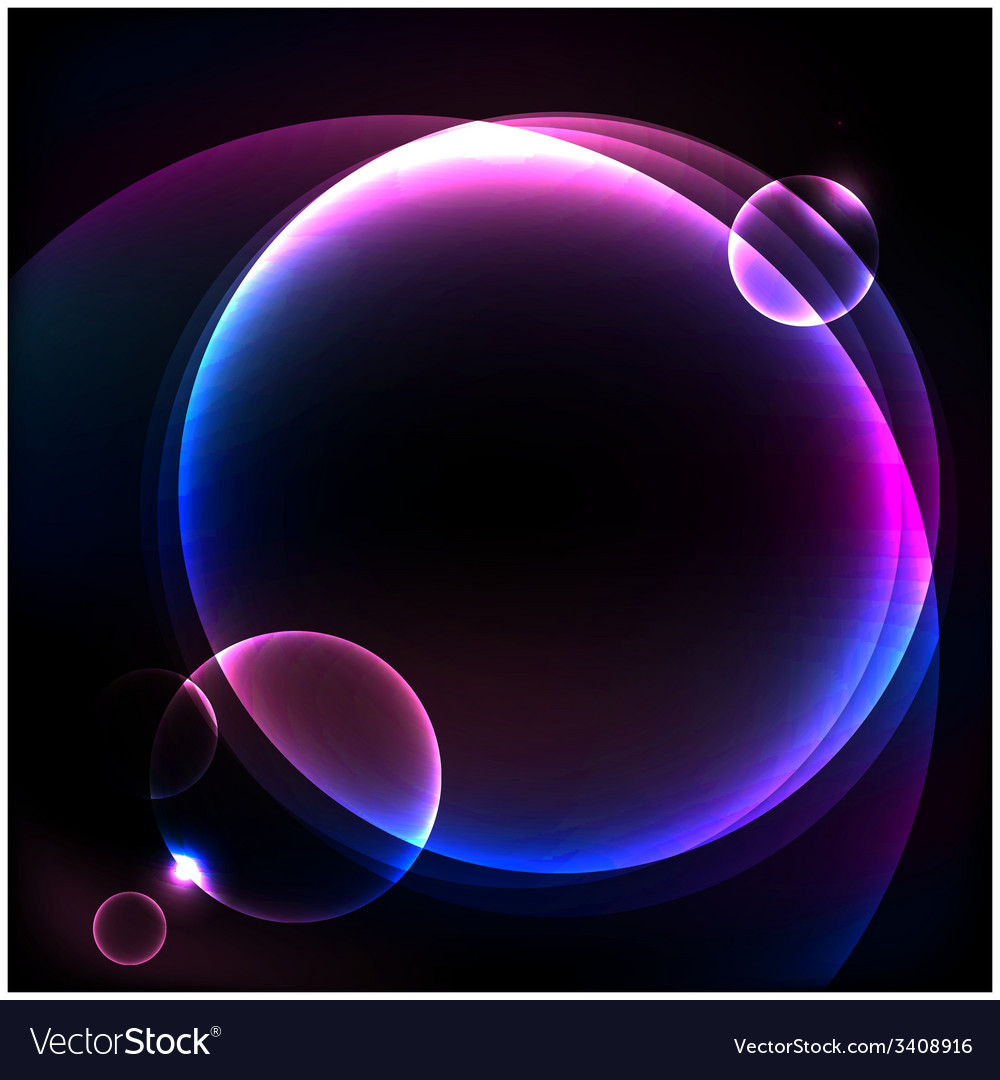 Shiny cosmic sphere background vector | Price: 1 Credit (USD $1)