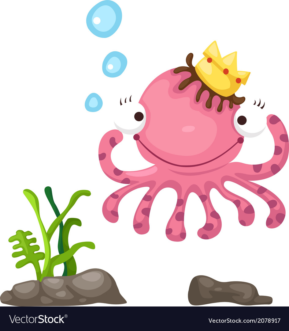 An octopus vector | Price: 1 Credit (USD $1)
