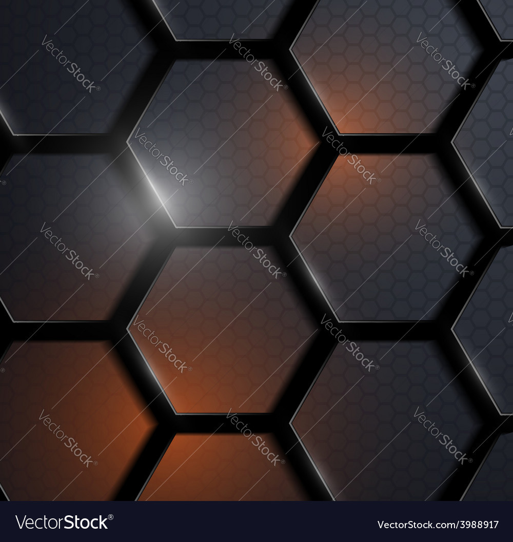 Background of carbon honeycombs vector | Price: 1 Credit (USD $1)