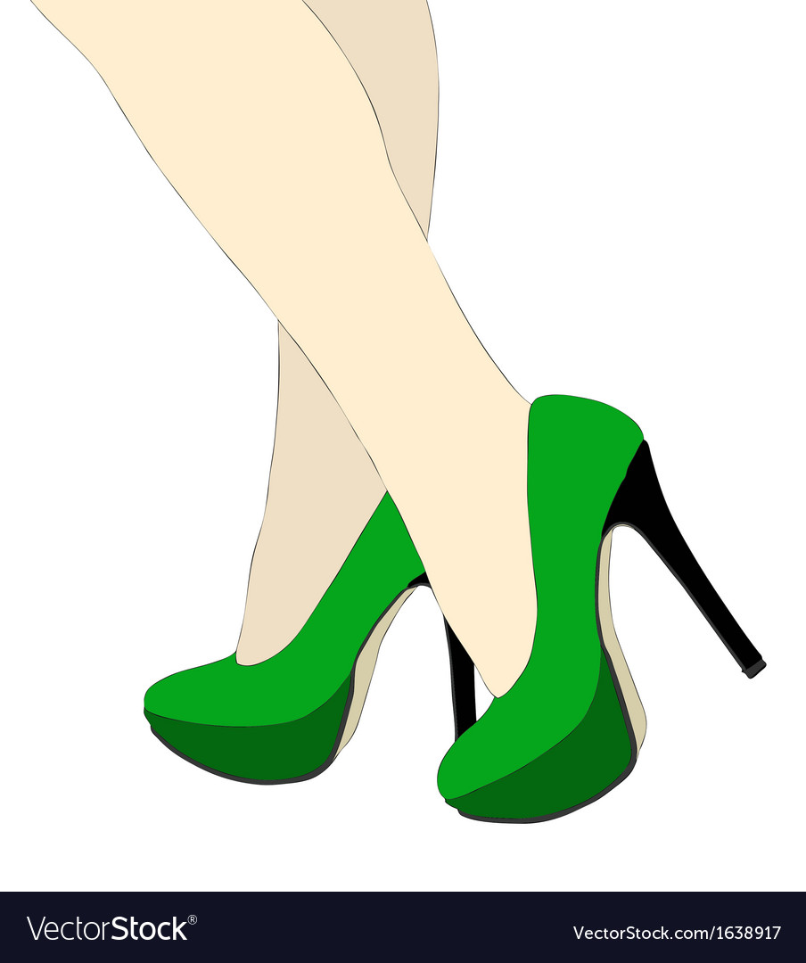 The beautiful legs of women vector | Price: 1 Credit (USD $1)