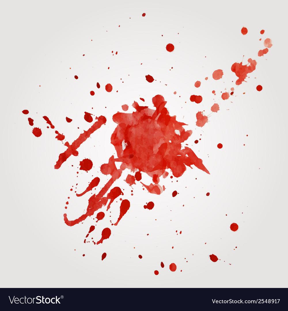 Blood splatter vector | Price: 1 Credit (USD $1)