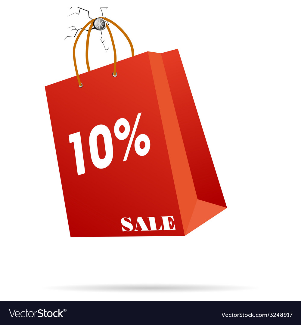 Rep paper bag vector | Price: 1 Credit (USD $1)