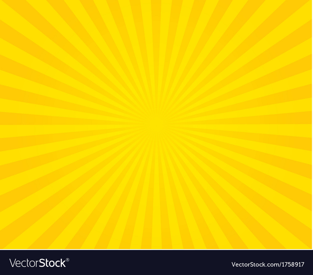 Yellow flare background vector | Price: 1 Credit (USD $1)