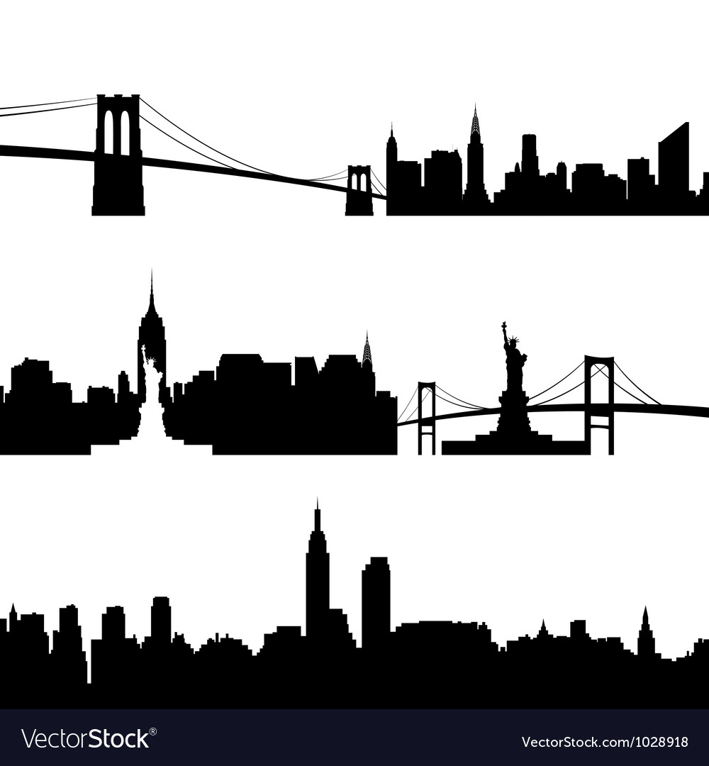 Architecture of new york vector | Price: 1 Credit (USD $1)
