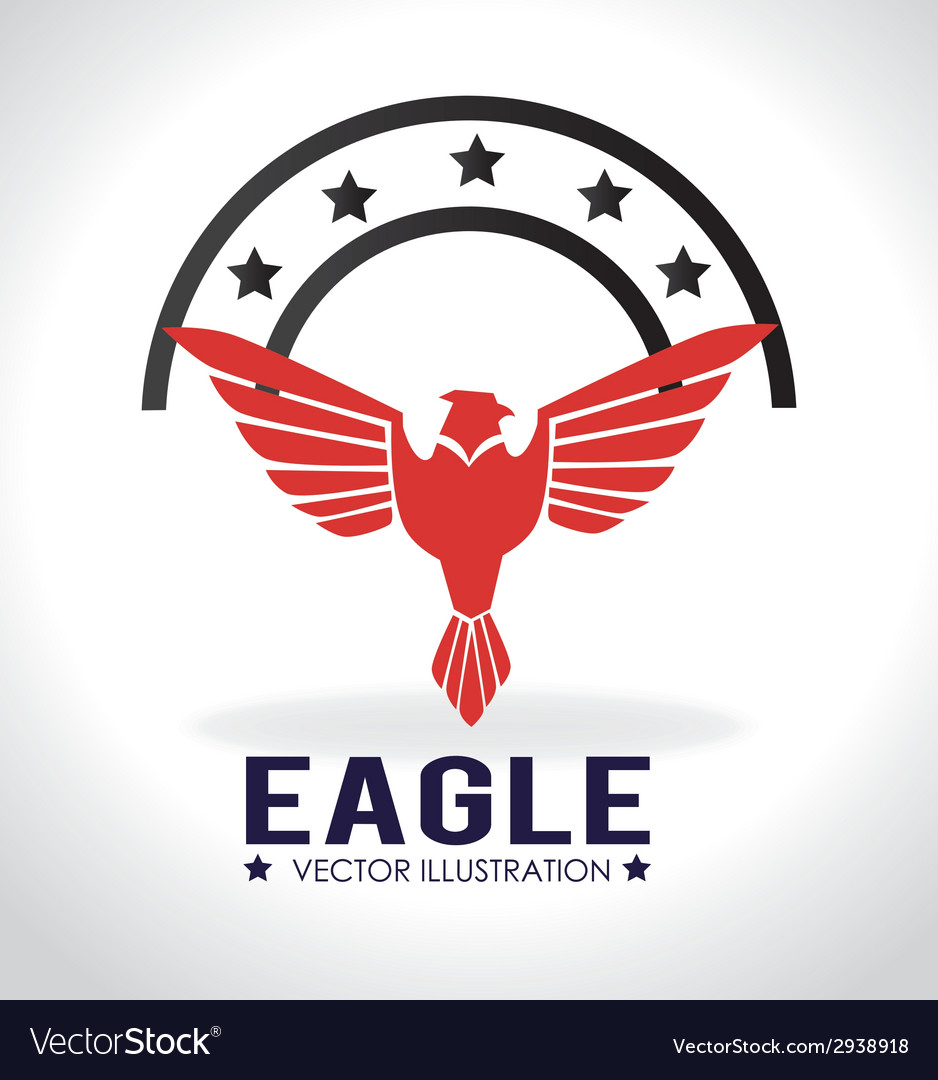 Eagle signal vector | Price: 1 Credit (USD $1)