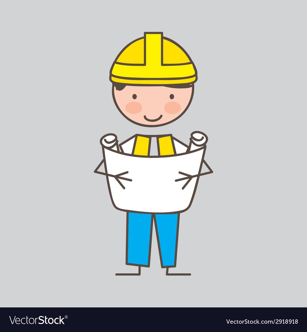 Engineer design vector | Price: 1 Credit (USD $1)