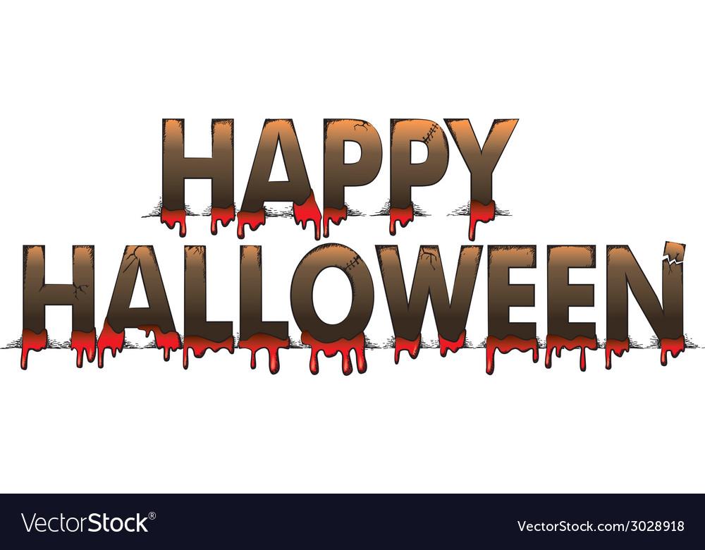 Halloween letters vector   Price: 1 Credit (USD $1)