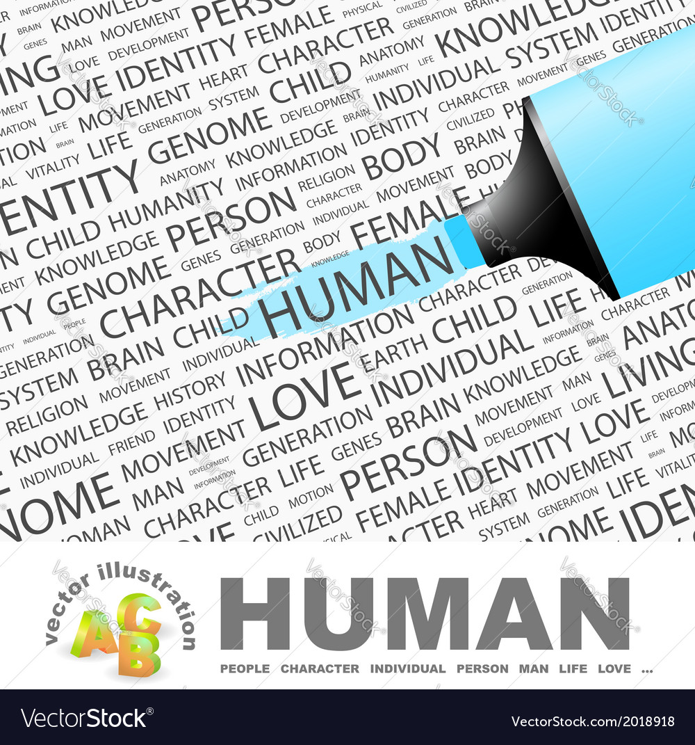 Human vector | Price: 1 Credit (USD $1)