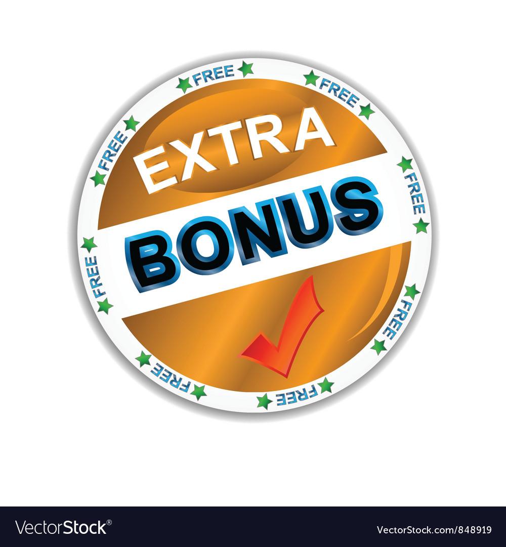 Bonus icon vector | Price: 1 Credit (USD $1)