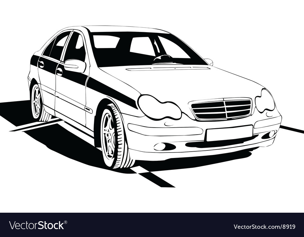 Car background vector | Price: 1 Credit (USD $1)