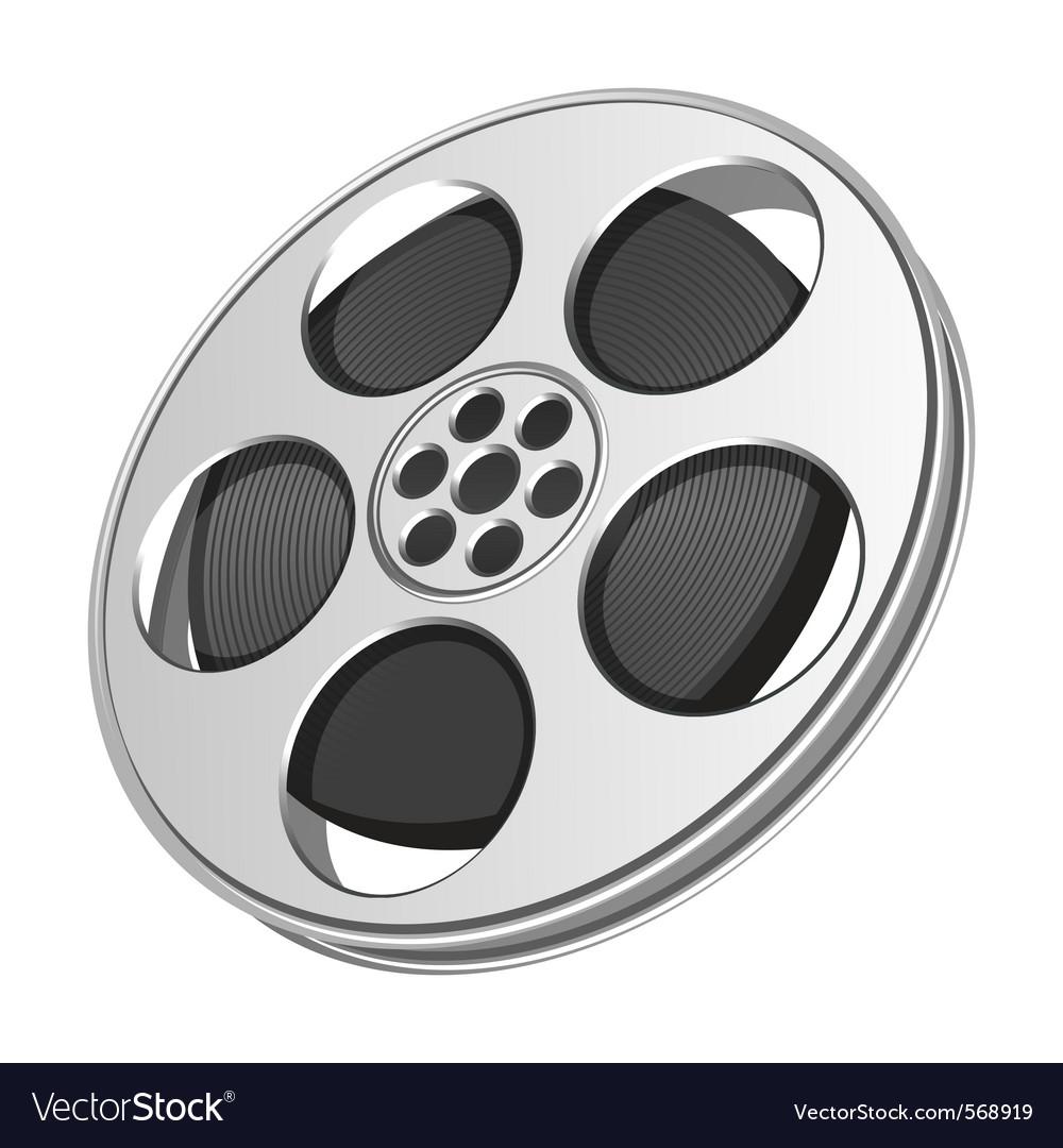 Film tape icon vector | Price: 1 Credit (USD $1)