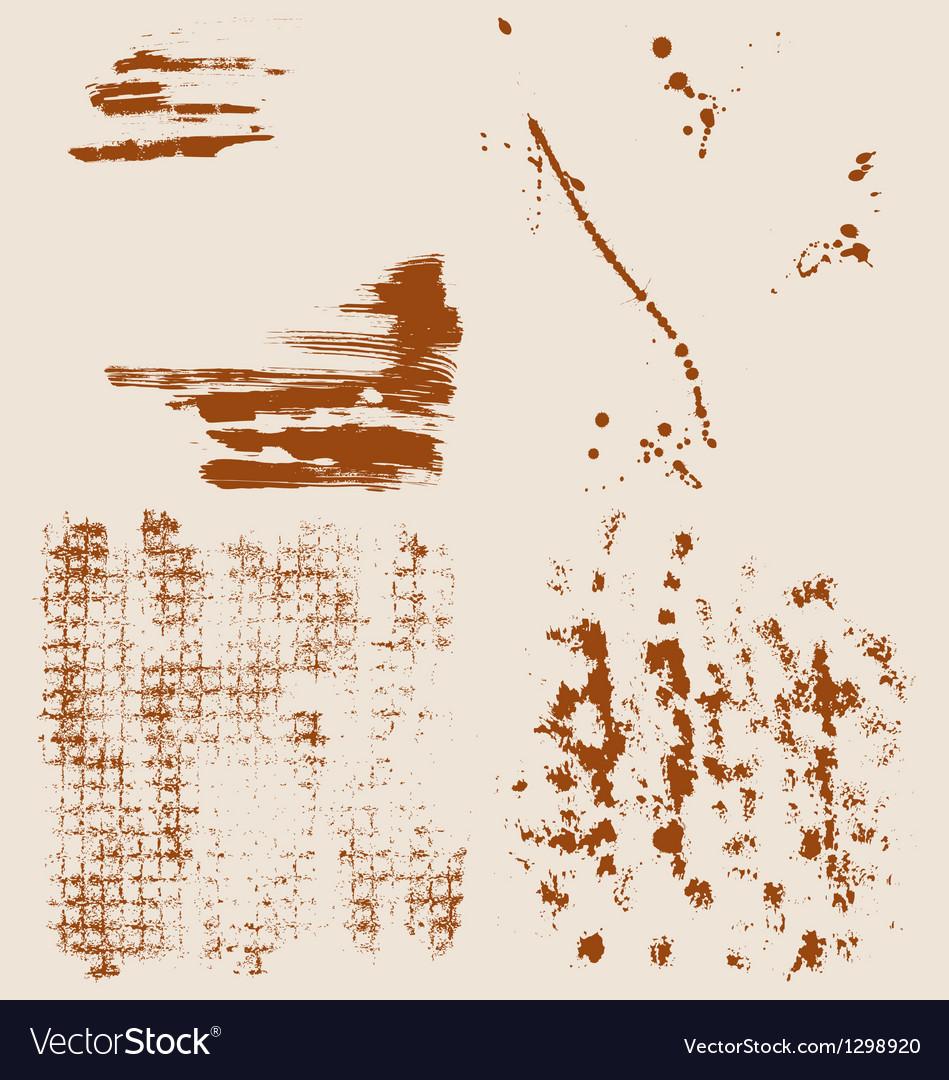 Grunge halftone textures vector | Price: 1 Credit (USD $1)