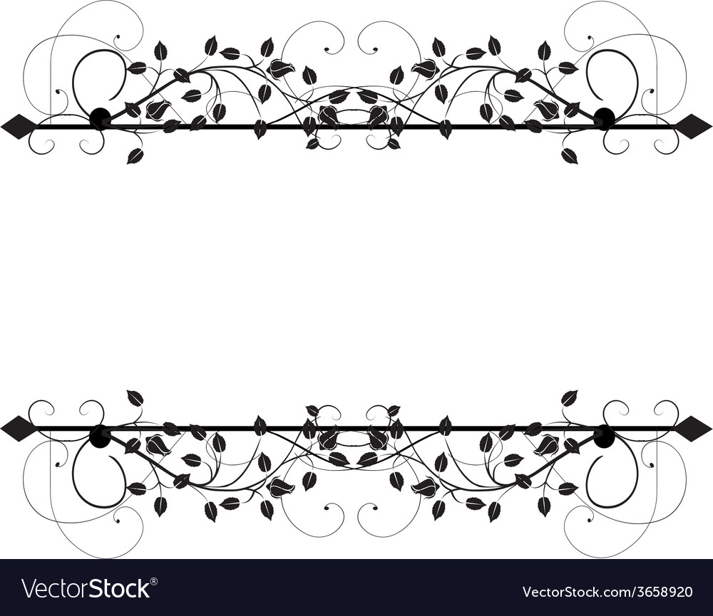 Ornamental flag vector | Price: 1 Credit (USD $1)