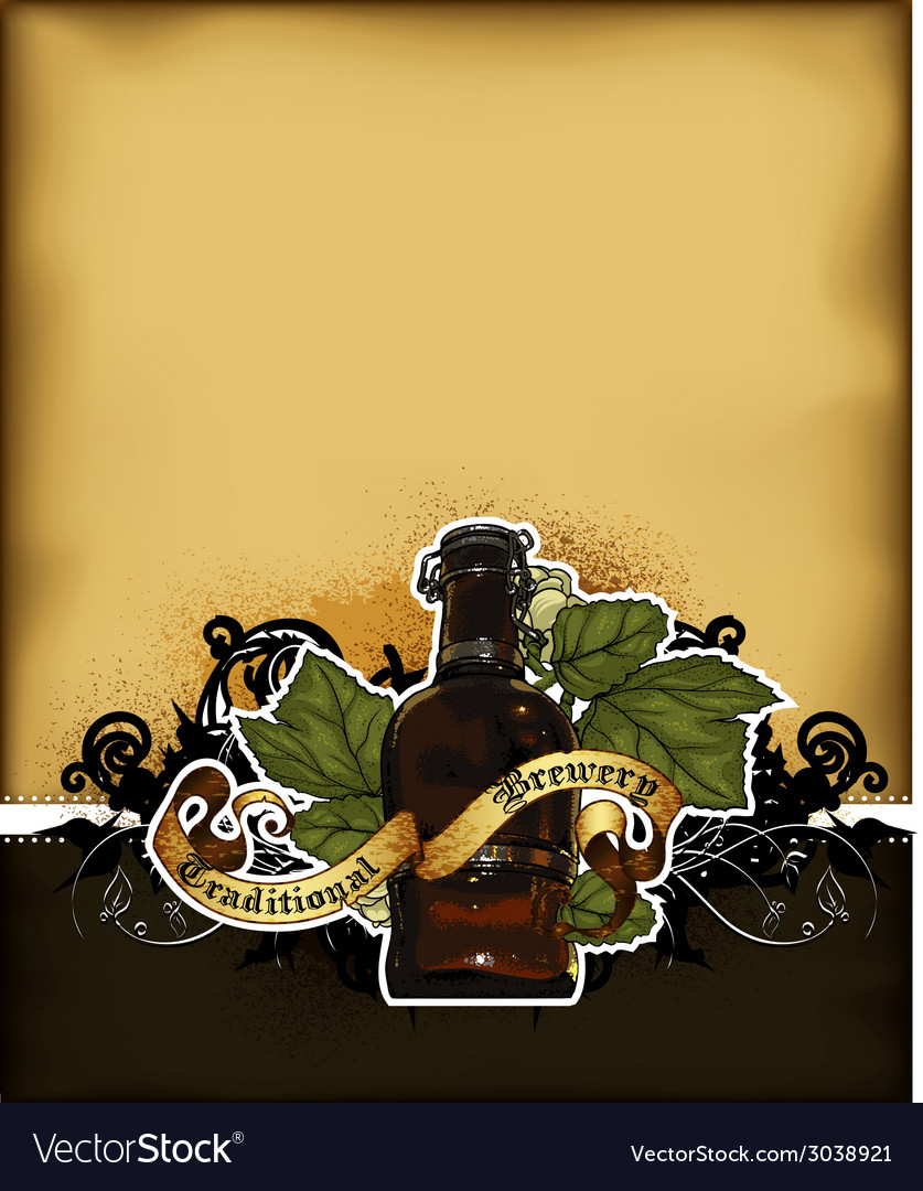 Beer background vector | Price: 1 Credit (USD $1)