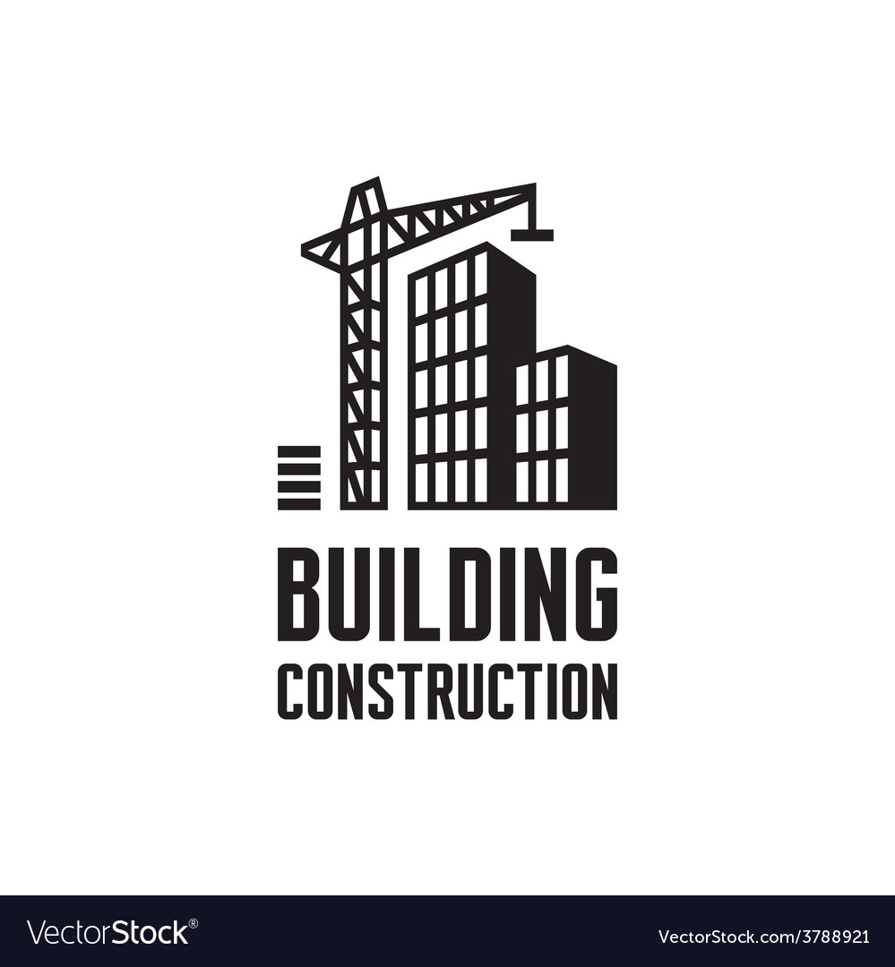 Building construction logo vector | Price: 1 Credit (USD $1)