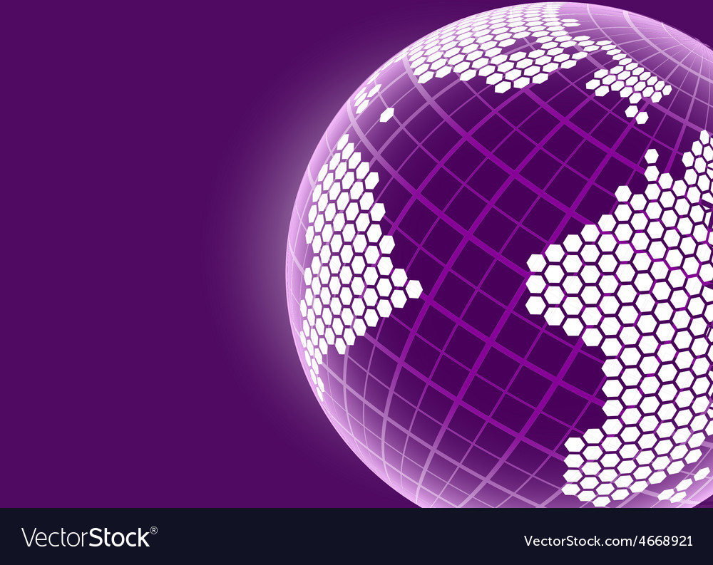 Earth planet design concept background vector | Price: 1 Credit (USD $1)