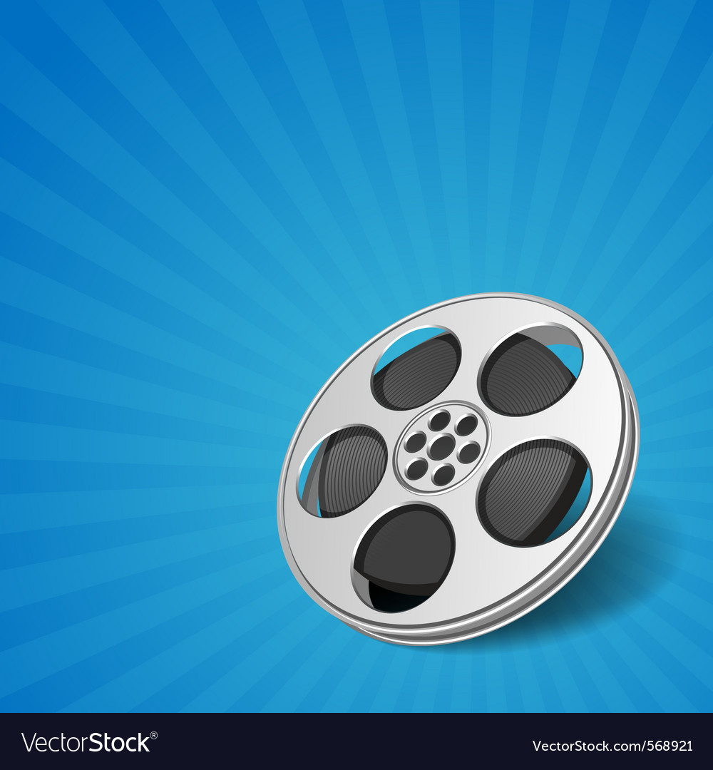 Film cinema background vector | Price: 1 Credit (USD $1)