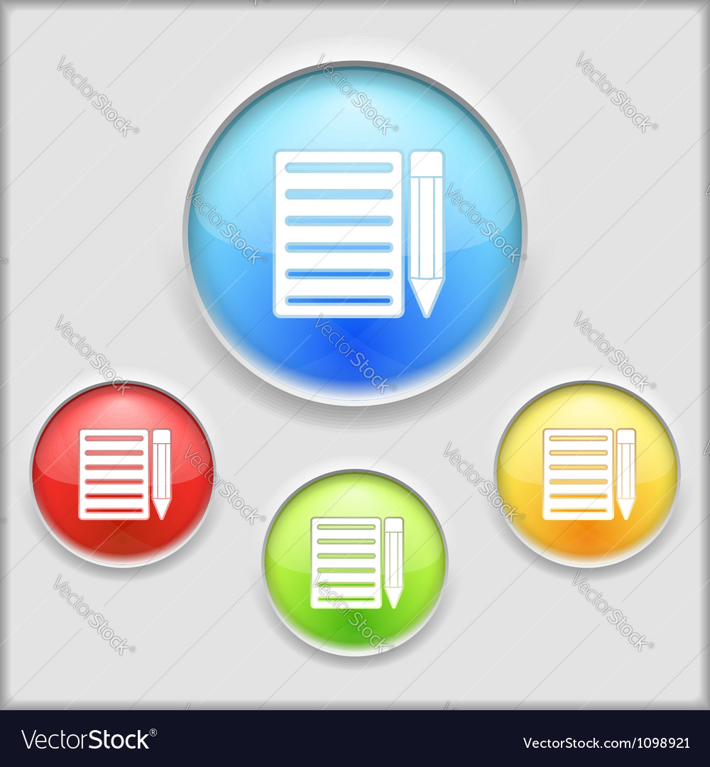 Icon of notebook vector | Price: 1 Credit (USD $1)