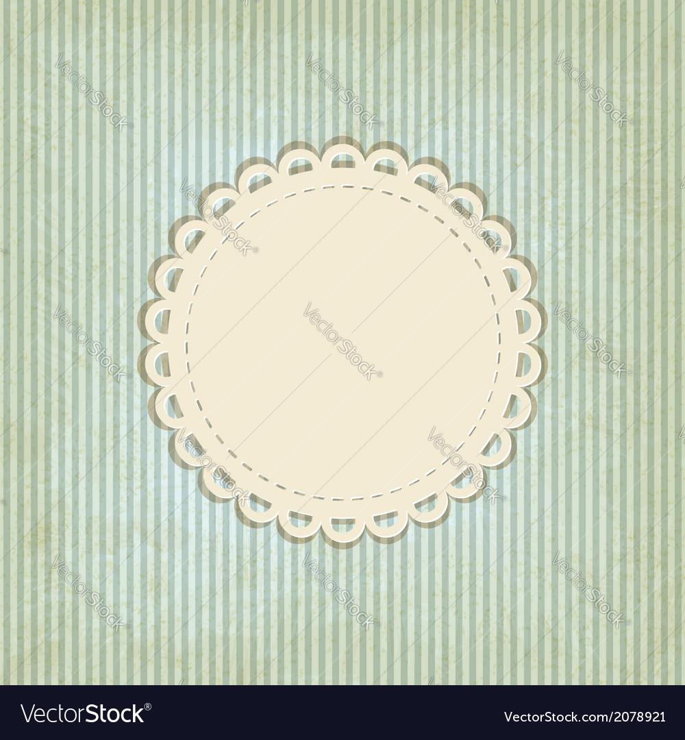 Retro striped background vector | Price: 1 Credit (USD $1)