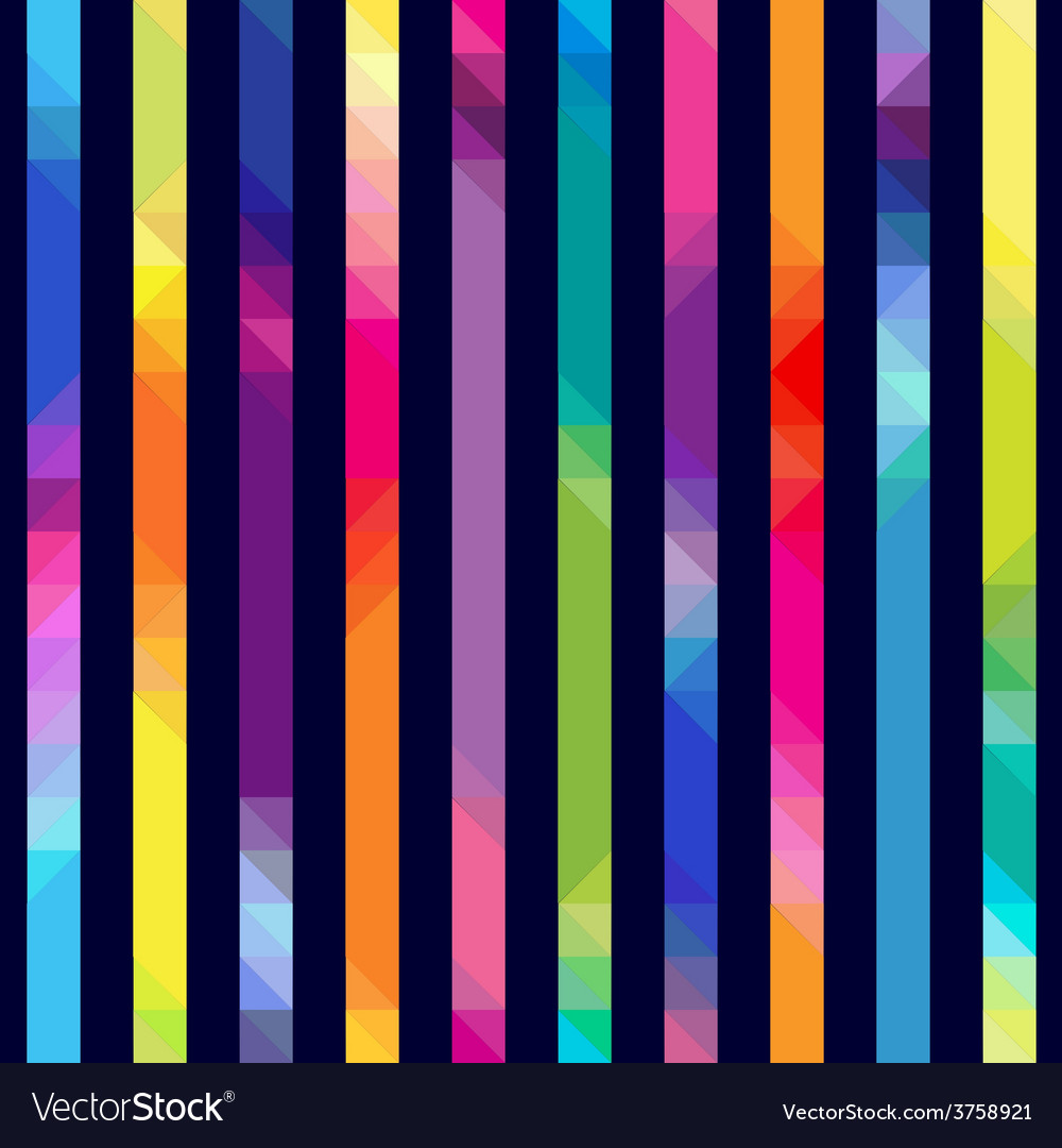 Strips with color transition from triangles vector | Price: 1 Credit (USD $1)