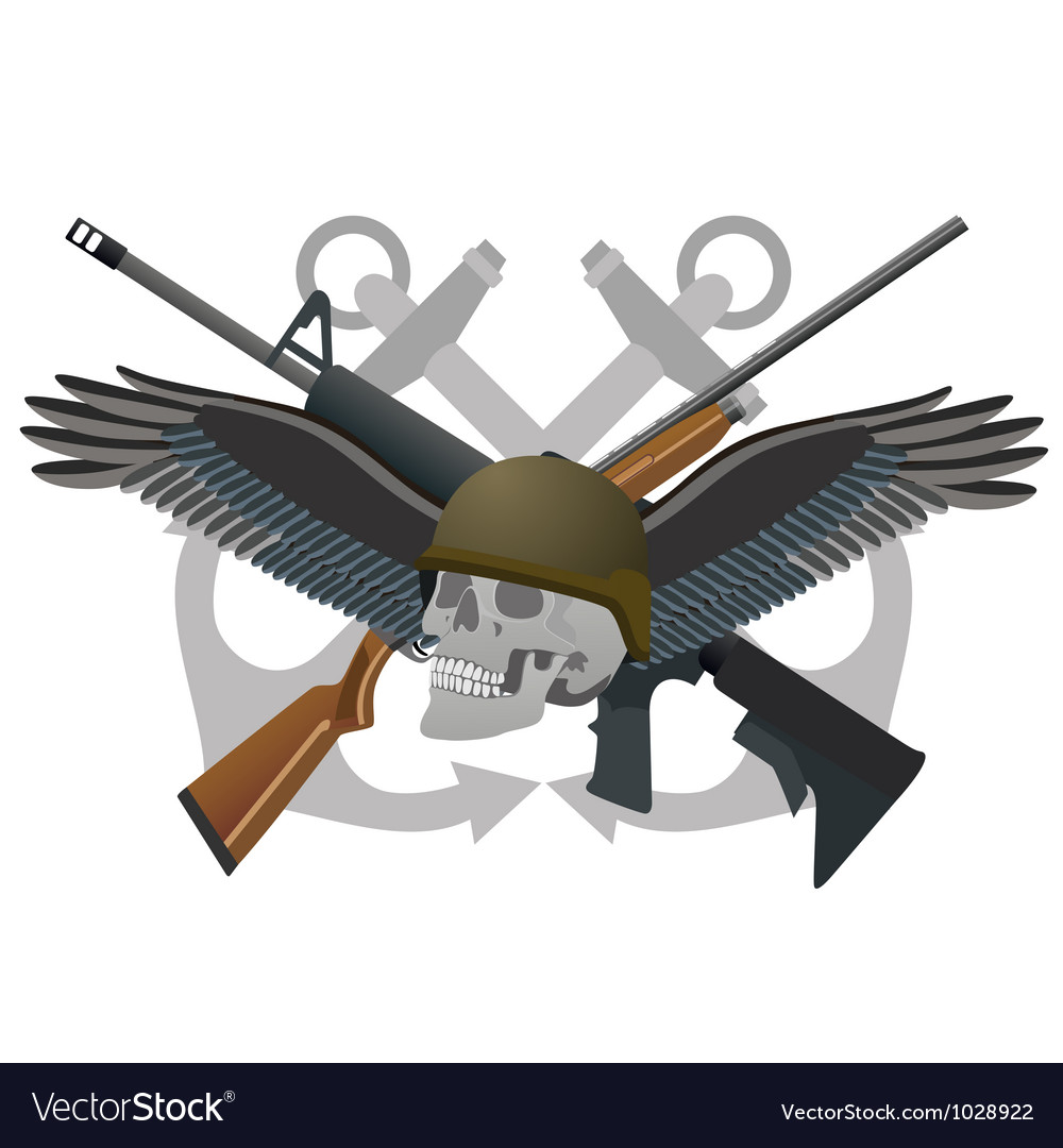 Abstract military badge vector | Price: 1 Credit (USD $1)