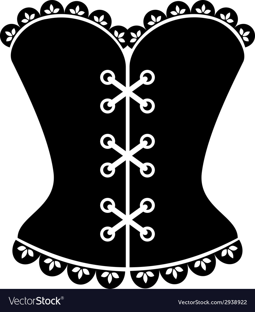 Corset vector | Price: 1 Credit (USD $1)