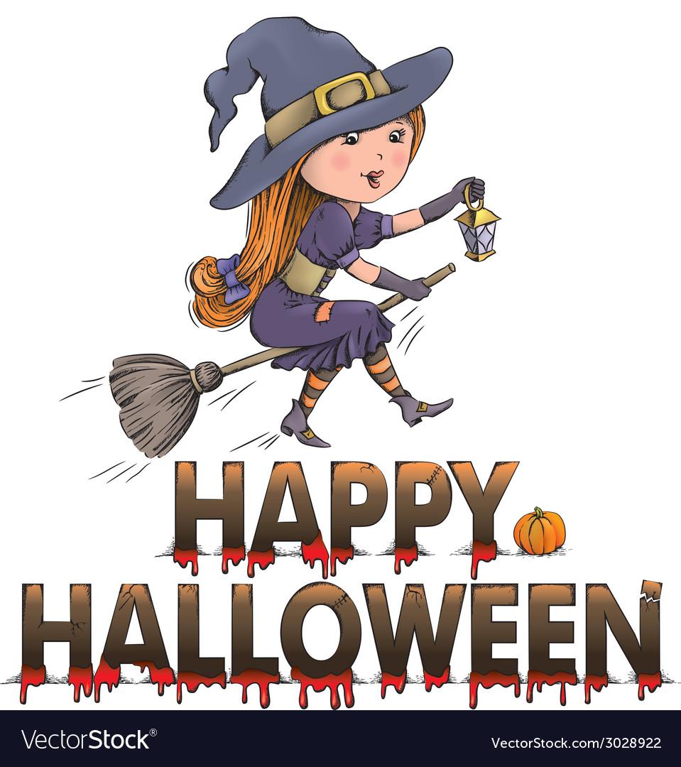 Happy halloween composition vector | Price: 1 Credit (USD $1)