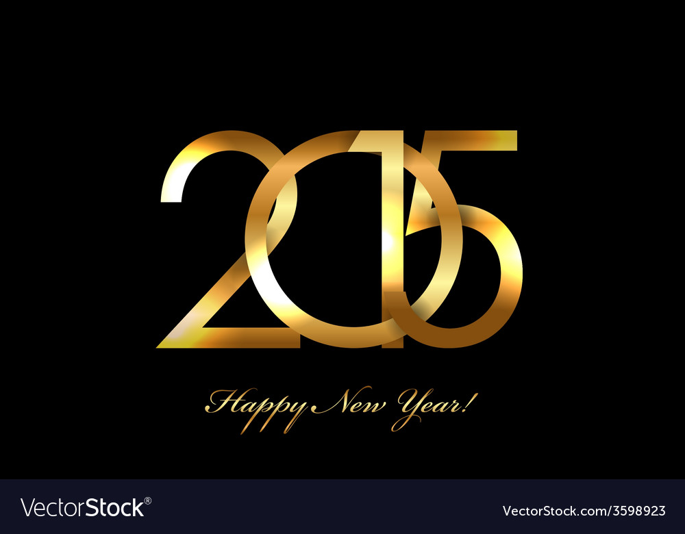- 2015 happy new year background vector | Price: 1 Credit (USD $1)