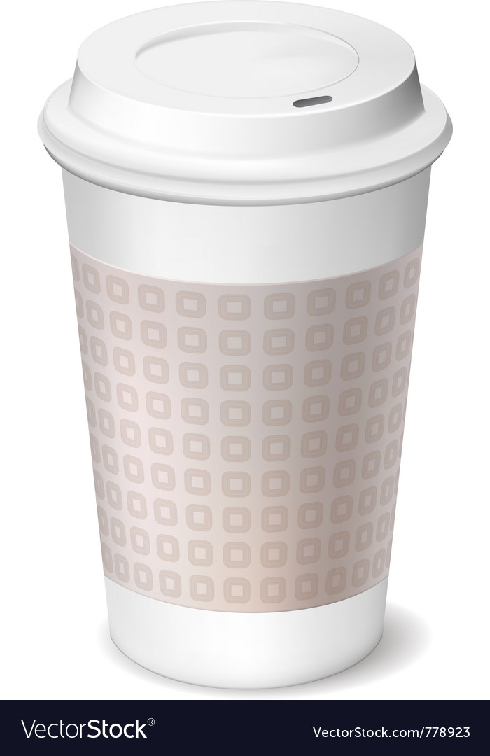 Coffee cup vector | Price: 3 Credit (USD $3)
