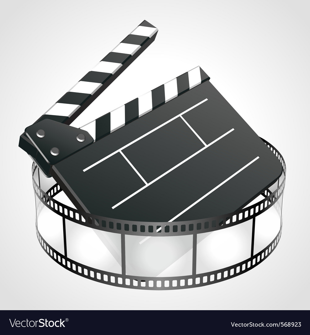 Film clap board vector | Price: 1 Credit (USD $1)