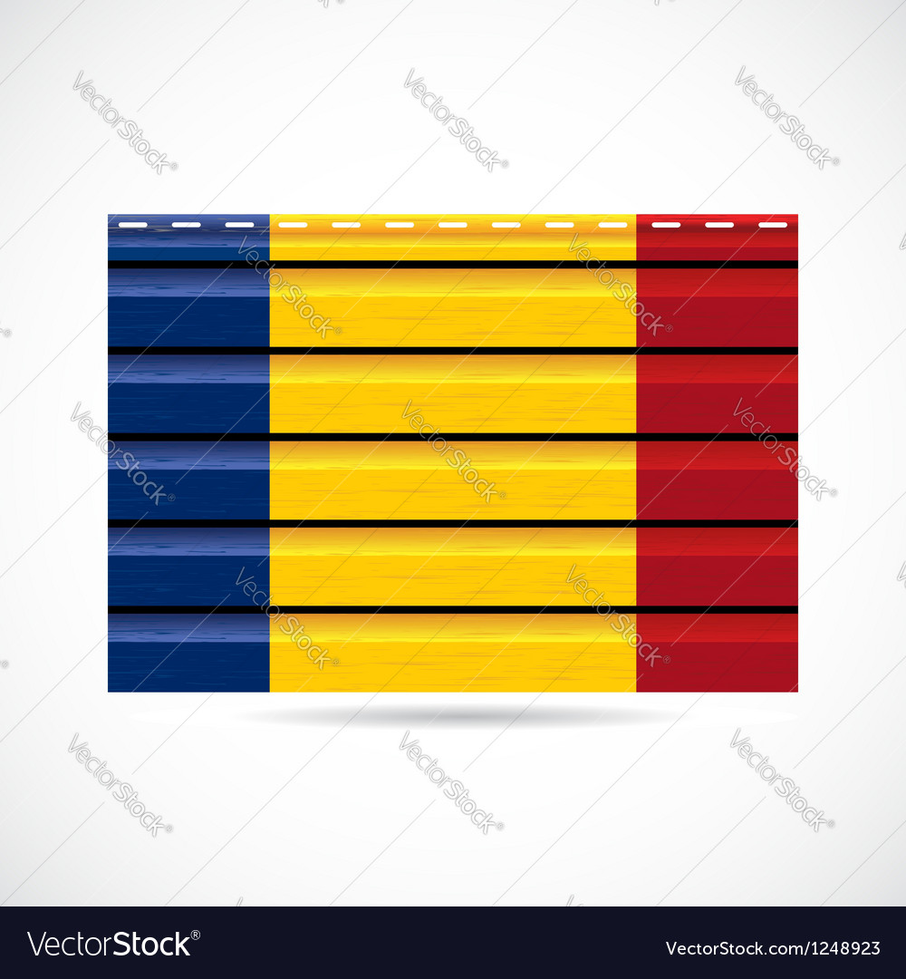 Romania siding produce company icon vector | Price: 1 Credit (USD $1)
