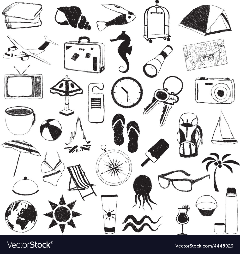 Travel pictures vector | Price: 1 Credit (USD $1)