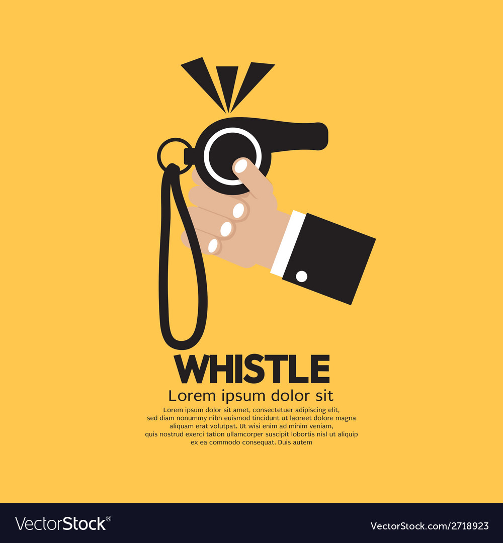 Whistle vector | Price: 1 Credit (USD $1)
