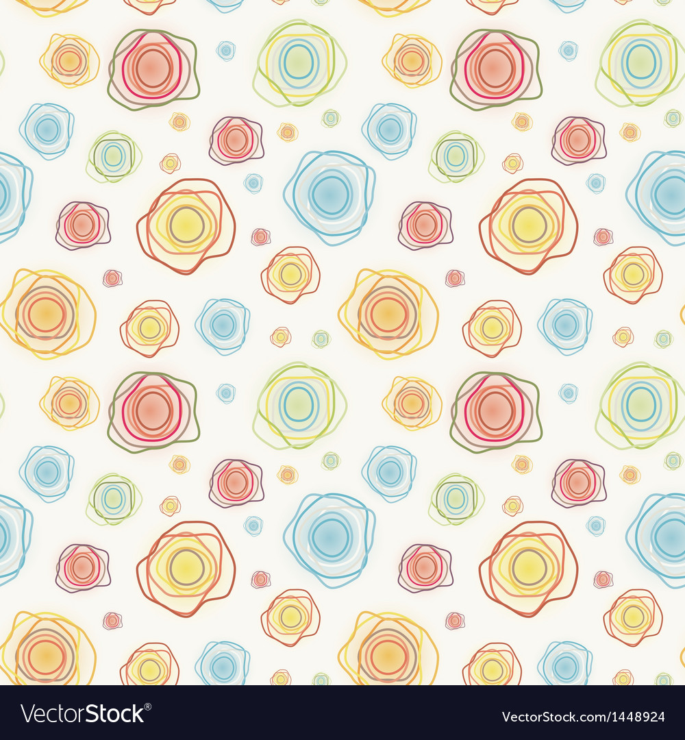 Abstract vintage seamless pattern - color c vector | Price: 1 Credit (USD $1)