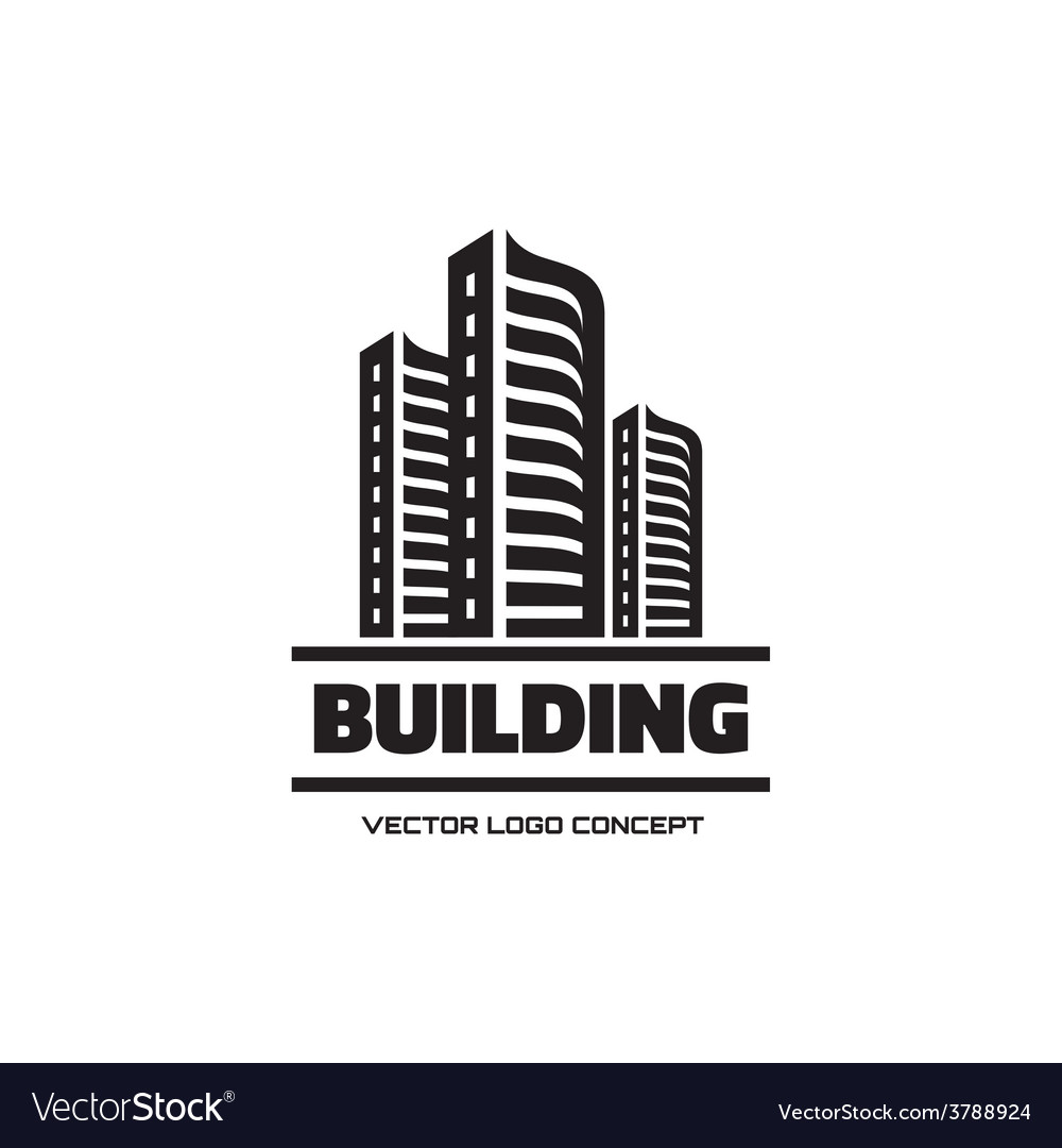 Building - logo concept vector | Price: 1 Credit (USD $1)