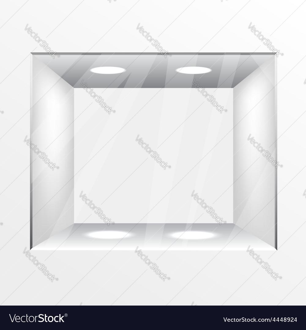 Shop window vector | Price: 1 Credit (USD $1)