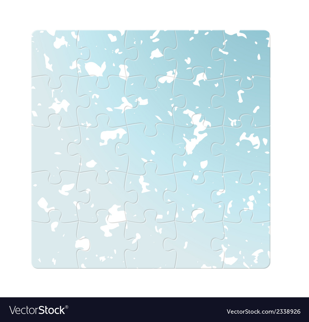 Blue puzzle fields vector | Price: 1 Credit (USD $1)