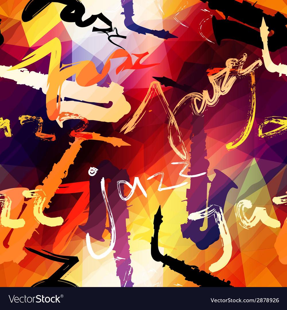Jazz music pattern vector   Price: 1 Credit (USD $1)