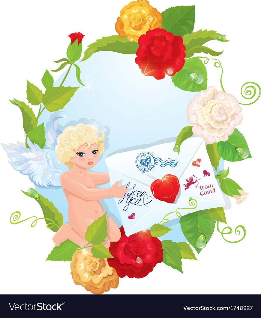Angel letter 380 vector | Price: 1 Credit (USD $1)