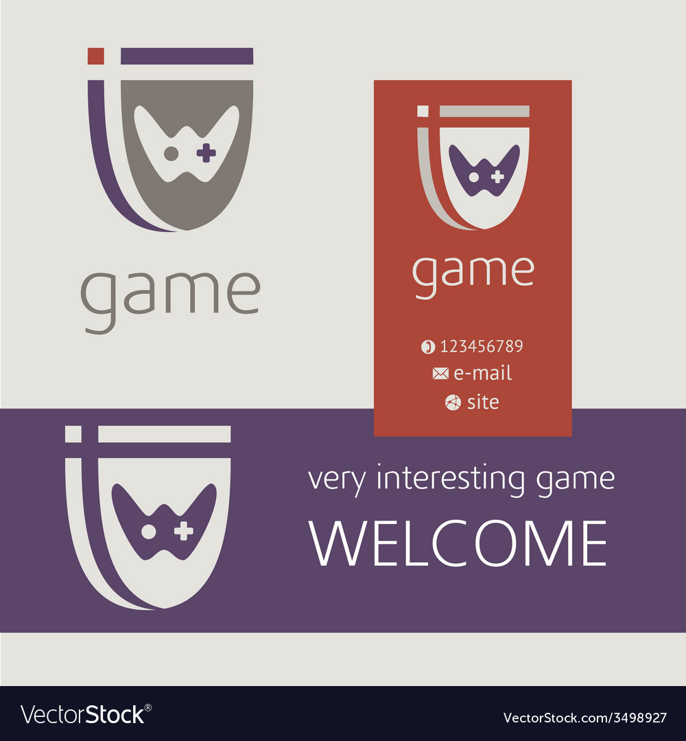 Gaming console controller logo logotype icon vector   Price: 1 Credit (USD $1)