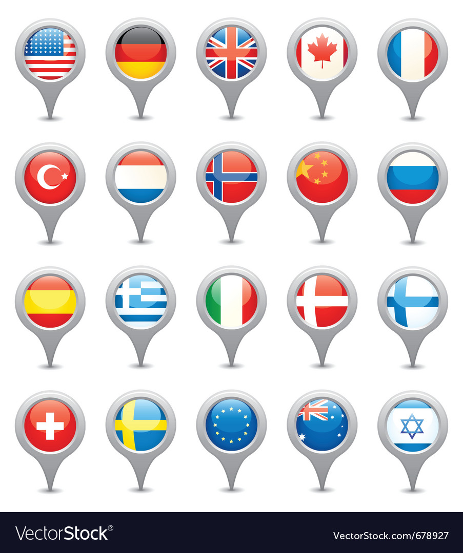 National flags vector   Price: 1 Credit (USD $1)