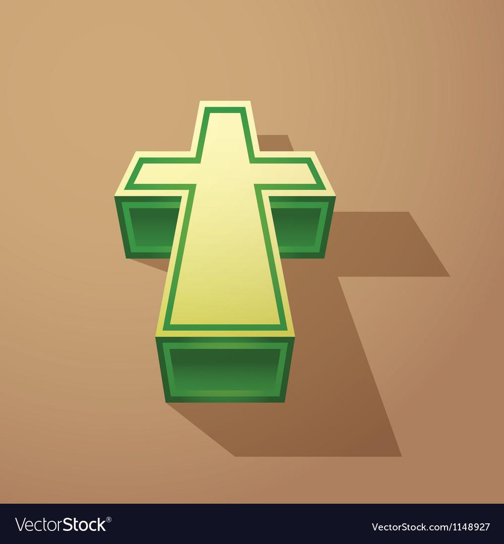 Religious cross vector   Price: 1 Credit (USD $1)