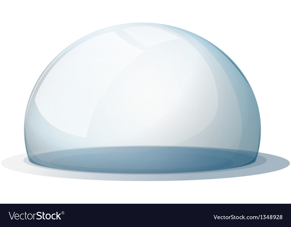 A dome without a holder vector | Price: 1 Credit (USD $1)