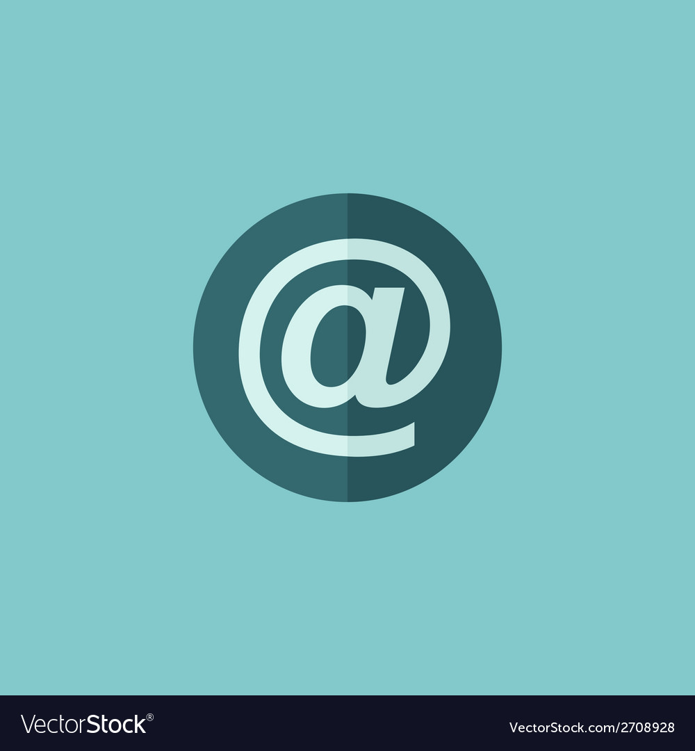 Email flat icon vector   Price: 1 Credit (USD $1)
