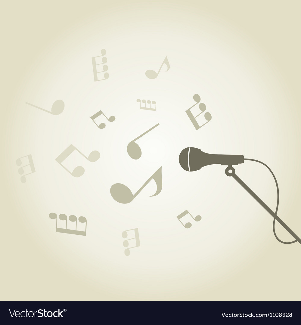 Microphone4 vector | Price: 1 Credit (USD $1)