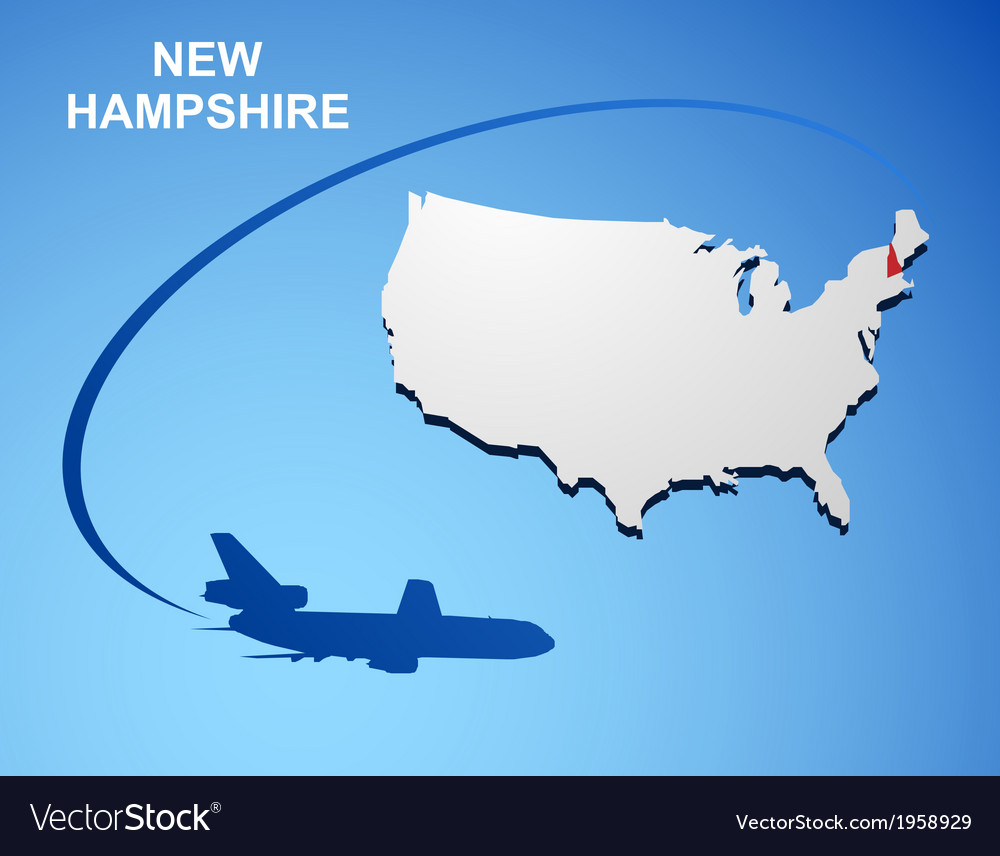 New hampshire vector | Price: 1 Credit (USD $1)